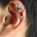 Womans Leaf Vintage/Party/Work/Casual Alloy Clip Earrings