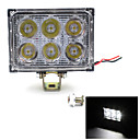 12V 24V 18W 1200LM LED Work Light Lamp For SUV Car Truck Tractor Trailer Nice