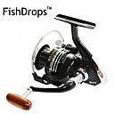 FISHDROPS BSLGH2000 5.5:1, 13 Ball Bearings One Way Clutch Spinning Fishing Reel, Right  Left Hand Exchangable