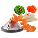 Image of affettatrice modello spirale affettatrice verdura brandello insalata carota ravanello