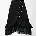Womens 50s Rockabilly Black Lace Skirts