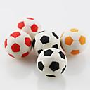 Cute Football Soccer Assemble Rubber Eraser (Random Color)