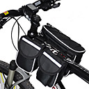 Rain-Proof/Multifunctional Bike Frame Bag Cycling  Red/Gray/Black/Blue 600D Ripstop