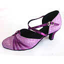 Customized Womens Ballroom Dance Shoes with Underneath Strap