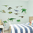 3D Wall Stickers Wall Decals Style Dinosaur PVC Wall Stickers