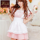 SKLV Womens Cotton Blends Maid Uniforms Ultra Sexy/Suits Nightwear/Lingerie
