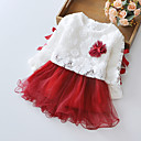 Girls Flower TuTu Dance Party Pagant Spring and Autumn Baby Kids Clothing Dresses