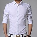 Mens Short Sleeve Shirt  Cotton Work Formal Plaids  Checks