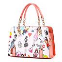 Womens Fashion Casual PU Messenger Shoulder Bag/Totes