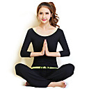 SHUYA Yoga Clothing Sets/Suits Yoga Pants  Yoga Tops Lightweight Materials Stretchy Sports WearYoga / Pilates / Fitness / Leisure