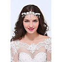 Womens Sterling Silver Alloy Headpiece - Wedding Special Occasion Casual Head Chain 1 Piece