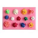 Many Flowers Fondant Cake Cake Chocolate Silicone Molds,Decoration Tools Bakeware