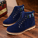 Mens Shoes Casual Suede Boots Black / Blue / Brown / Yellow