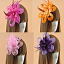 Womens Feather Flower Shape Fascinators (Assorted Color)