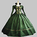 SteampunkGreen Gothic Victorian Gown Period Dress Theatre Clothing