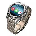 Orologio Bluetooth 4.0 Smart (vetro zaffiro, pedometro, frequenza cardiaca, impermeabile, anti-perso)