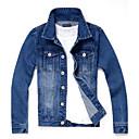 Men Pure Washing Vintage Denim jacket