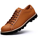 Mens Shoes Outdoor / Athletic / Casual Leather Oxfords Brown / Taupe