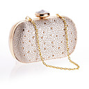 L.WEST  Womens Diamonds Delicate Evening Bag