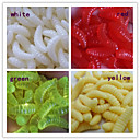 Anmuka Soft Bait 0.4 G 200 Pcs 20MM5MM5MM Bait Casting / Lure Fishing / General Fishing Color Random