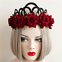 New Fashion Lace Pearl Crown Hair Hoop
