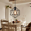 E27 5-15? Geometrical Line Diamond Wrought Iron Chandelier Pendant Lights LED Modern/Contemporary