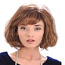 signora donne di prezzi a buon mercato a marrone chiaro parrucche sintetiche europei e America