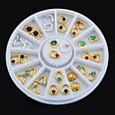 Image of 1 - Gioielli per unghie - Cartoni animati / Adorabile - Dito / Dito del piede - di Metallo - 6x0.7