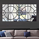 3D DIY Mirror Acrylic Wall Stickers Wall Decals
