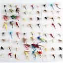 Anmnka 72 pcs/set Various Dry Fly Hooks Dry Flies  1g   Fly Fishing