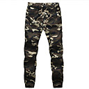 Mens Fashion Camouflage Casual Sport Military Slim Fit Pants