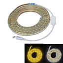 Jiawen Waterproof 65W 4000LM 300x5050 SMD LED Flexible Light Strip (5M-Length / 220V)