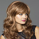 Popular Lady Women Blonde Syntheic Wave Wigs