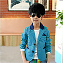 Boys Cotton  Spring / Fall  wave point Color Matching  Small Suit