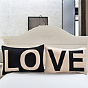 Love Together Pillowcase New Year Gifts Decorative Covers Body Pillow Case Bedding Valentines Gift 2Pcs/Pair