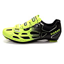 TIEBAO Unisexs Cycling ROAD BIKE Shoes More Colors Available (GreenBlack)