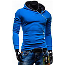 Mens Plus Size Black/Blue/Red Hoodie  Sweatshirt,Long Sleeve