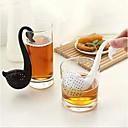 novità cigno forma tè filtro di depurazione delle spezie a base di erbe diffusore filtro