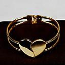 Womens Chain / Round Bangles Bracelet Gold / Alloy Non Stone
