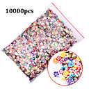 1pack Polymer Clay 3d Nail Art Decoration Mix Flowers Feather Fruit Fimo Cane For DIY Acrylic Nail Phone Supplies