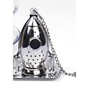 tè razzo infusore diffusore sciolto foglia di filtro filtro spezia in acciaio inox