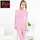SKLV Womens  Polyester Ultra Sexy / Suits / Teddy Cut Out Solid Color Nightwear /Lingerie