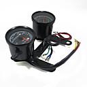 Image of indicatore contagiri moto universale calibro contachilometri tachimetro condotto con staffa