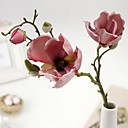 European Style Vintga 3 Head/Branch Magnolia Flower Artificial Flower