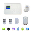 G18 Smart Wireless Burglar Touch GSM Home Security Alarm System With TFT LCD, Voice, 99 Wireless Zone Android IOS