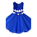 Girls Blue / Green / Pink / Red / White Dress , Floral / Dresswear Cotton / Polyester All Seasons