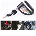 Motorcycle security Disc Lock Anti Thief throttle Alarm chain lock