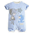 100% Cotton Material Summer Infant Baby Short Sleeve Rompers Newborn Toddler Clothing Jumpsuit