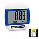 """1.7 """"contapassi clip-on LCD con analizzatore di grasso del corpo 3D (1 x LR1130)"""