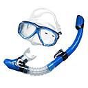 Maschere subacquee / Snorkeling Pacchetti / Snorkels Two-Window Adulto / Unisex Vetro / Silicone Sub e immersioni Giallo / Blu / Nero